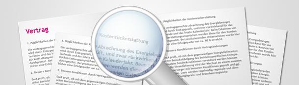 Konditionen von Energielieferverträgen